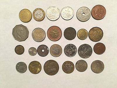 Lot  Mix Mixed Different Foreign World Coins  Lot B