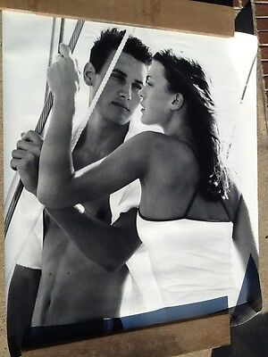 Rare Vintage Abercrombie & Fitch Mural / Poster