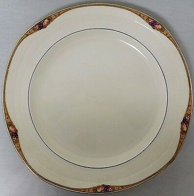 """Grindley & Co Ltd Georgian Ivorie Mowbray Large 13"""" Round Chop Plate Charger Euc"""