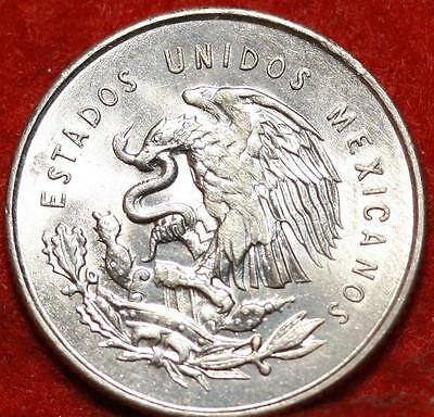 Uncirculated 1950 Mexico 25 Centavos Silver Foreign Coin Free S/H