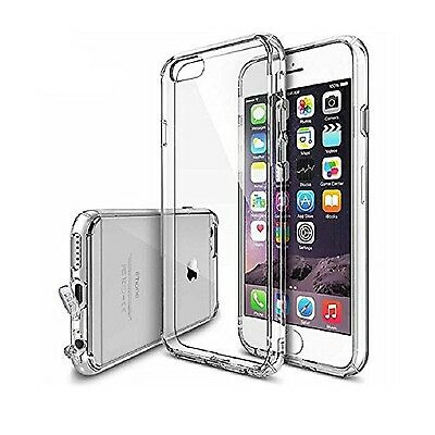 iPhone 6 plus crystal clear case with dustproof plug lanyard hole design 360 ...