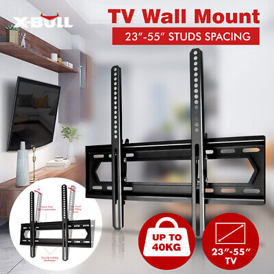 X-BULL TV Wall Mount Bracket Full Motion Tilt Swivel LED 32 40 43 49 50 55Inch
