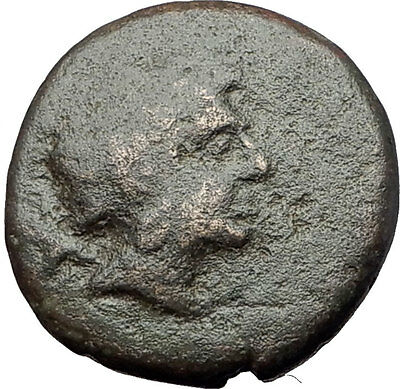 PERSEUS 179BC Macedonia King RARE R2 Authentic Ancient Greek Coin Eagle i61355