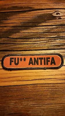 F#$@ Antifa. Morale Patch..... Hook And Loop Back