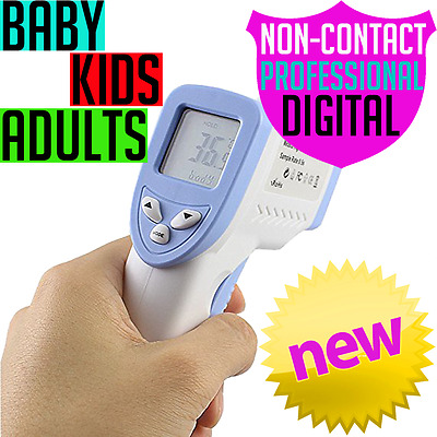DIGITAL BABY THERMOMETER Infrared FOREHEAD KIDS ADULTS PROFESSIONAL NON-CONTACT