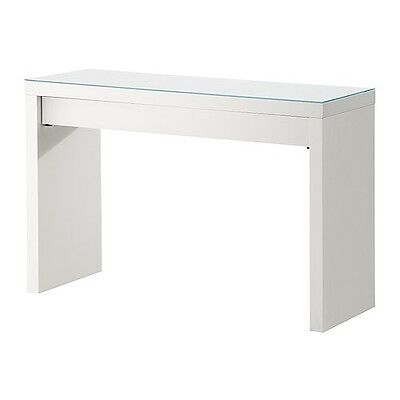IKEA White 120 x 41cm Dressing Table | Minimalist | Vanity | Desk