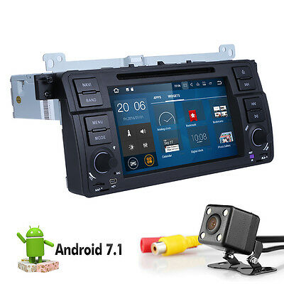 Android 7.1 OuadCore Car Stereo DVD GPS Navigation Player For BMW 3 E46 Series