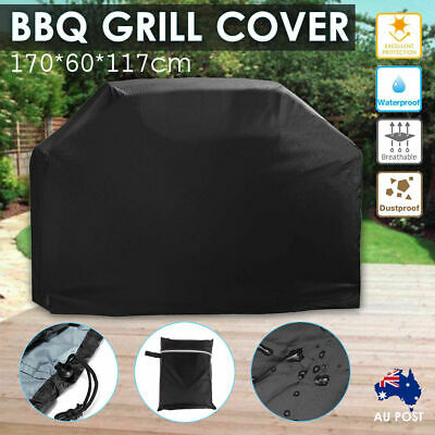 BBQ Grill Cover 4 Burner Outdoor Waterproof Gas Charcoal Barbecue UV Protector