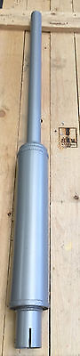 MF35, MF135, TE20 Tractor Vertical Exhaust / Silencer Silver