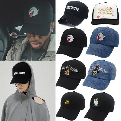 US Mens Womens Snapback Adjustable Baseball Cap Hip Hop Hat Cool Bboy Fashion