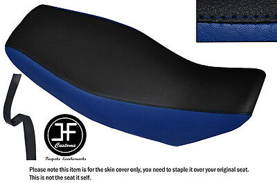 ROYAL BLUE /& BLACK VINYL CUSTOM FOR HONDA MELODY DELUXE 50 FRONT SEAT COVER ONLY