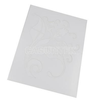 Plastic Grain Template Stencil Paint Painting Effects DIY Wall Decor Tool #2