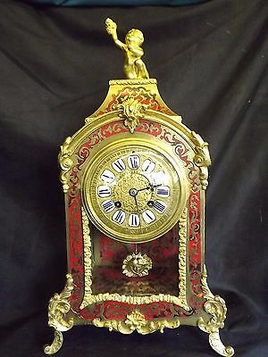 "Stunning 19c French Ormolu ""Boulle"" Clock."