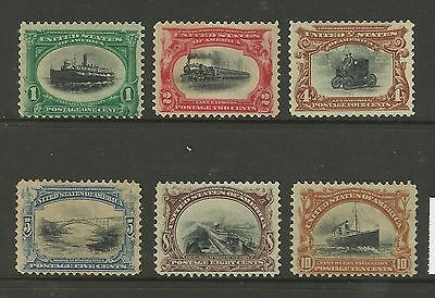 USA 1901 Early American US LMM Stamps Great Colour Bargain Price