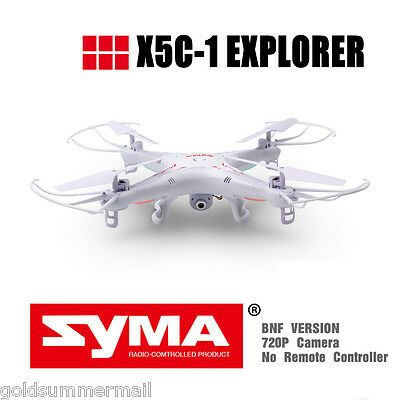 Syma X5C BNF 6-Axis Gyro 4CH 2.4GHz RC Quadcopter With Night Light /HD Camera
