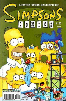 Simpsons Comics # 182 Near Mint (NM) Bongo Comics MODERN AGE