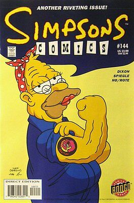 Simpsons Comics # 144 Near Mint (NM) Bongo Comics MODERN AGE