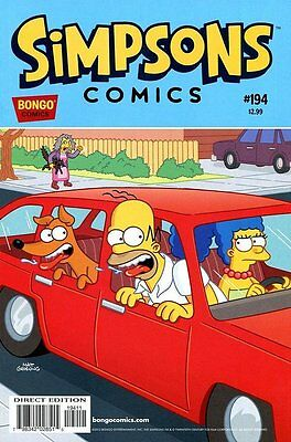 Simpsons Comics # 194 Near Mint (NM) Bongo Comics MODERN AGE