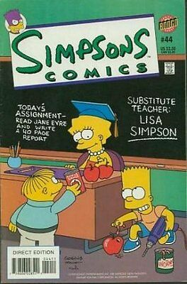 Simpsons Comics #  44 Near Mint (NM) Bongo Comics MODERN AGE