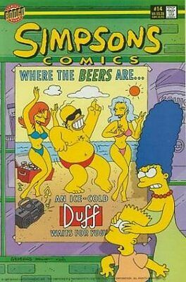 Simpsons Comics #  14 Near Mint (NM) Bongo Comics MODERN AGE