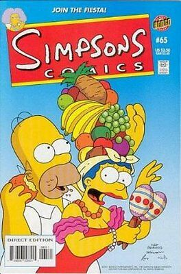 Simpsons Comics #  65 Near Mint (NM) Bongo Comics MODERN AGE