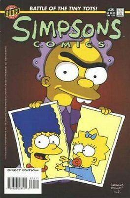 Simpsons Comics #  35 Near Mint (NM) Bongo Comics MODERN AGE