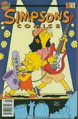 Simpsons Comics #   6 Near Mint (NM) Bongo Comics MODERN AGE