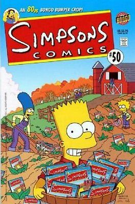 Simpsons Comics #  50 Near Mint (NM) Bongo Comics MODERN AGE