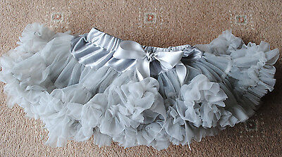 Baby girls grey tutu Pure and Innocent age approx 18-24 months (XS)