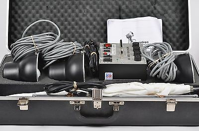 Exc++ Novatron 600Vr 3-Head Strobe Flash Kit, Complete, Tested, Lightly Used