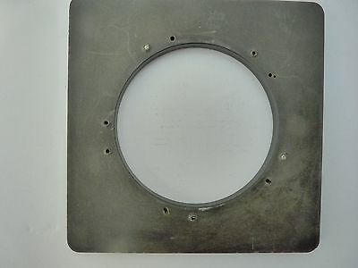 8x10 Calumet C2 lens board, after market composite, drilled to 95mm