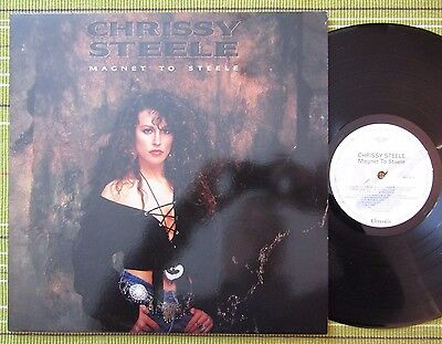 Chrissy Steele, Magnet To Steele /headpins Lp 1991 Uk 1St Press A-1U/b-1U Ex-/ex