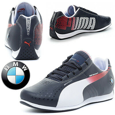 PUMA BMW MS evoSpeed 1.3 Ultra Mens Trainers Motorsport F1 - Next Day Delivery