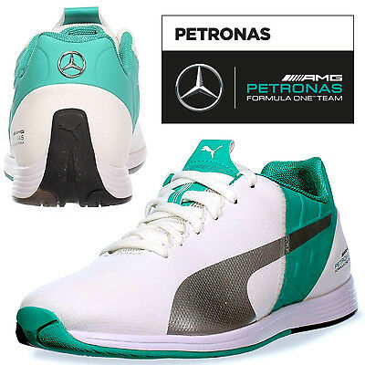 PUMA AMG Petronas evoSPEED Mens Trainers Motorsport F1 - Free Next Day Delivery