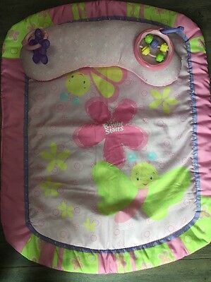 Pink Baby Girls Play Mat and Head Support