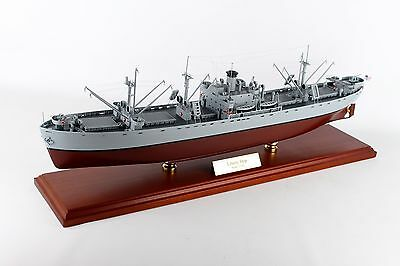 US Navy Liberty Class Naval Cargo Ship Desk Top Display Boat WW2 ES 1/192 Model