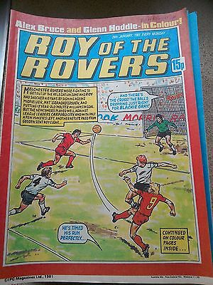 Roy of the Rovers 24th January 1981 Combined Postage Offered For Multiple Buys