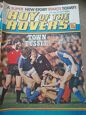 Roy of the Rovers 25th April 1981 Combined Postage Offered For Multiple Buys