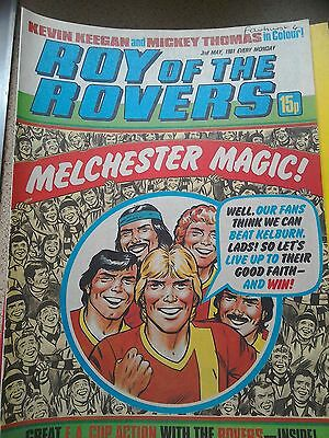Roy of the Rovers 02nd May 1981 Combined Postage Offered For Multiple Buys