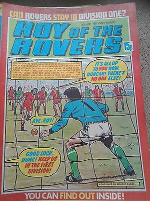 Roy of the Rovers 30th May 1981 Combined Postage Offered For Multiple Buys