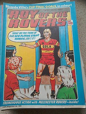 Roy of the Rovers 04th July 1981 Combined Postage Offered For Multiple Buys