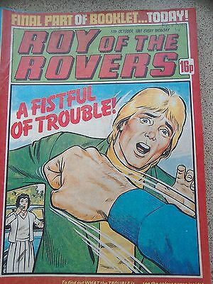 Roy of the Rovers 17th October 1981 Combined Postage Offered For Multiple Buys