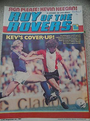 Roy of the Rovers 07th November 1981 Combined Postage Offered For Multiple Buys