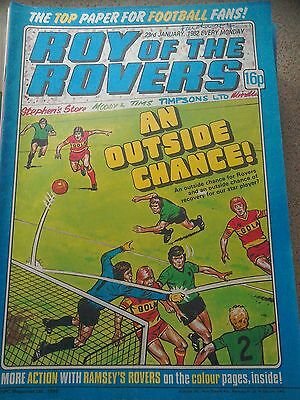 Roy of the Rovers 23rd January 1982 Combined Postage Offered For Multiple Buys
