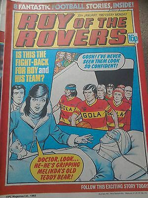 Roy of the Rovers 30th January 1982 Combined Postage Offered For Multiple Buys