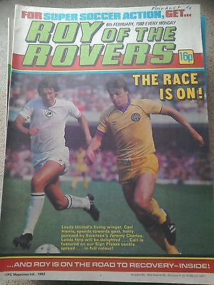 Roy of the Rovers 06th February 1982 Combined Postage Offered For Multiple Buys