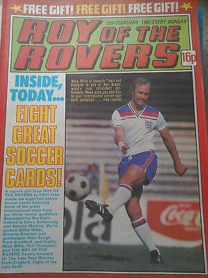 Roy of the Rovers 13th February 1982 Combined Postage Offered For Multiple Buys