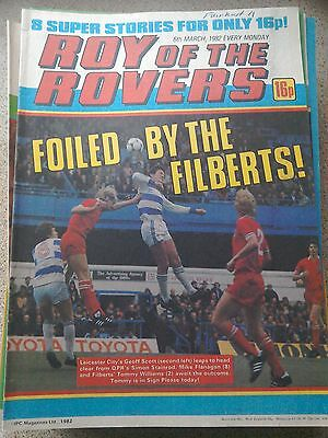 Roy of the Rovers 06th March 1982 Combined Postage Offered For Multiple Buys