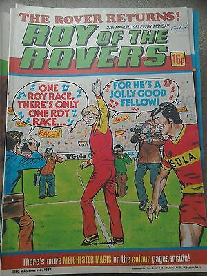 Roy of the Rovers 27th March 1982 Combined Postage Offered For Multiple Buys