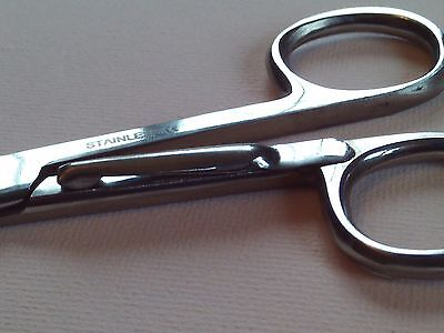 "Dressing Nurse Surgical Bandage Scissors 5"" with clip q2009cl"